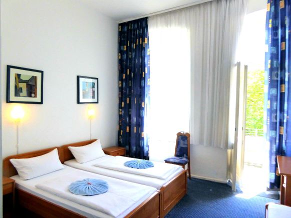 Photo from one of our double rooms